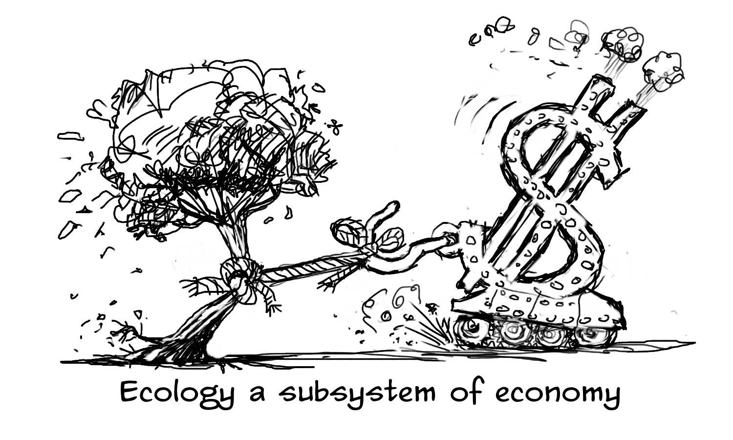 economy vs ecology essay Economics bibliography reuniting economy and ecology in sustainable development ecological economics and the ecology of economics: essays in.