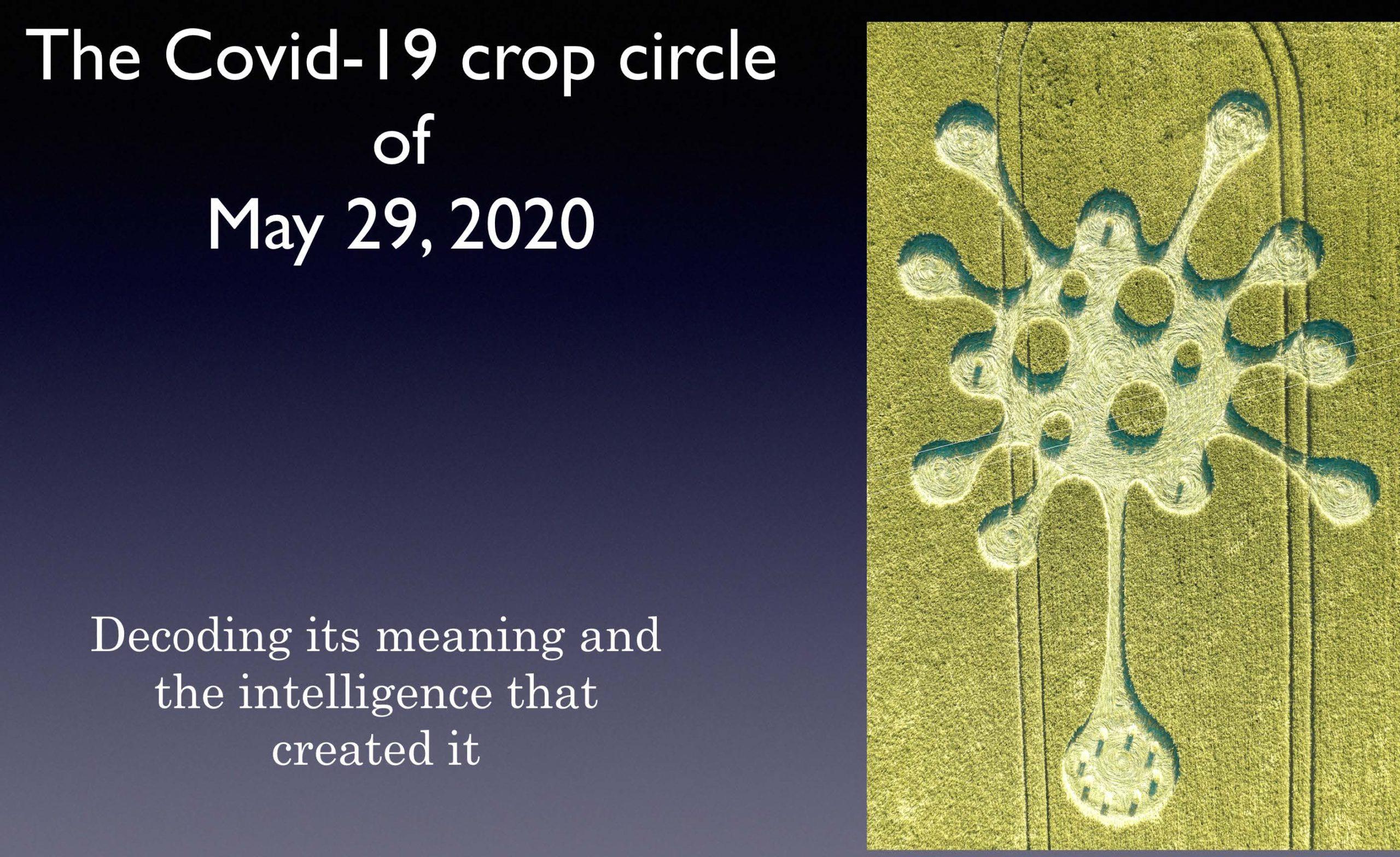 COVID-19 crop circle